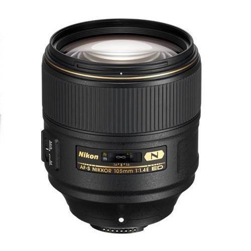 Nikon AF-S 105mm f/1.4E ED Lens - Ex Display