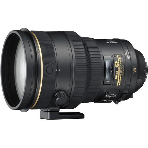 Nikon AF-S 200mm f/2G ED VR II Lens