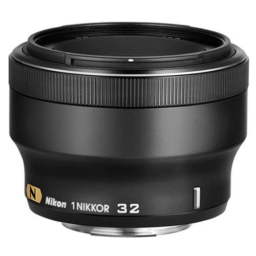 Nikon 1 32mm f/1.2 Portrait Lens in Black