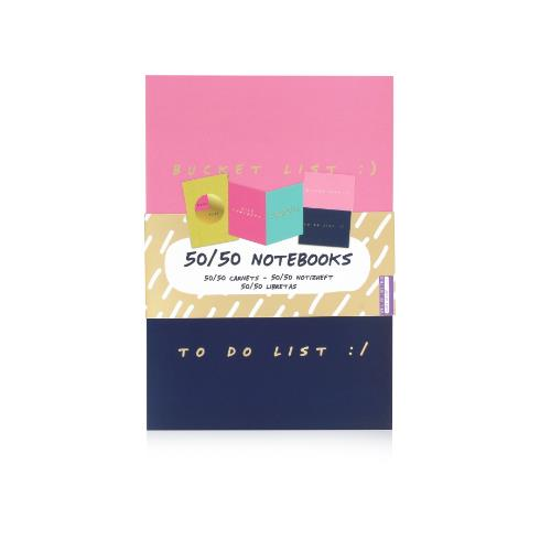 NPW Notes to Self (Set of 3) 50 50 Notebooks