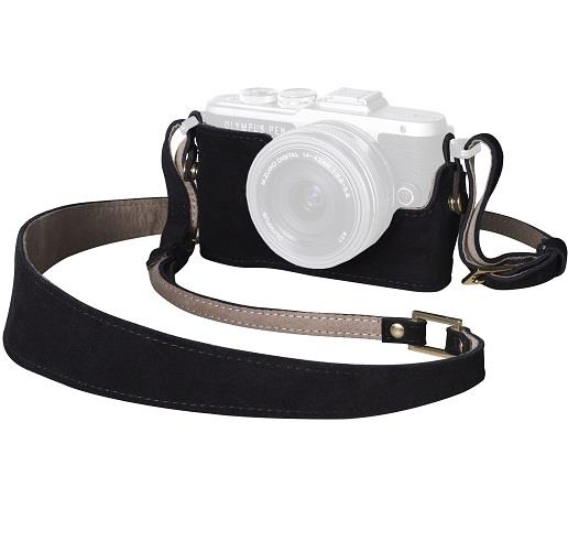 Olympus Camera Outfit Hei Coffee - Body Jacket and Strap
