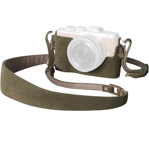 Olympus Camera Outfit Olive En Vogue - Body Jacket and Strap