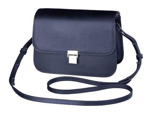 Olympus Black like my Dress Shoulder Bag