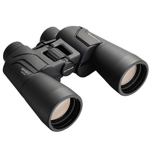 Olympus 10x50 S Binoculars in Black
