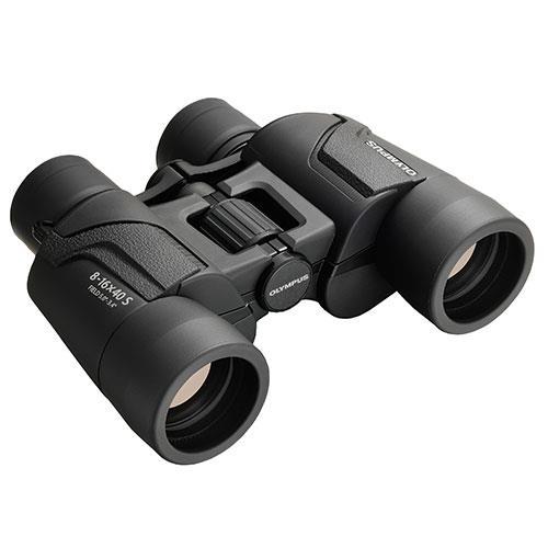Olympus 8-16x40 S Binoculars in Black