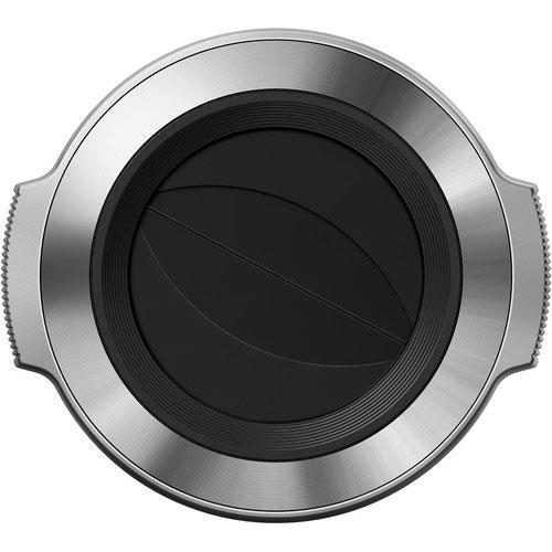 Olympus LC-37C Lens Cap - Silver