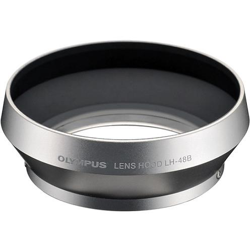 Olympus Lens Hood LH-48B in Silver