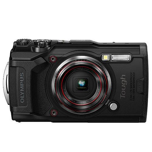 Olympus Tough TG-6 Digital Camera in Black - Ex Display