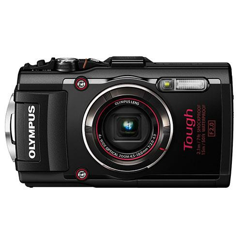 Olympus Tough TG-4 Digital Camera in Black - Ex Display