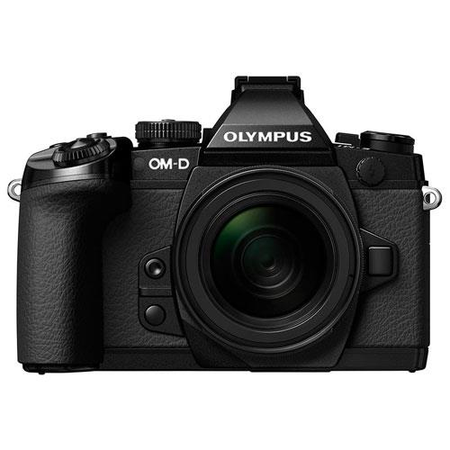 Olympus OM-D E-M1 Compact System Camera in Black + 12-50mm Lens