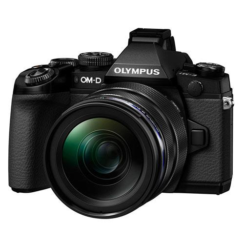 Olympus OM-D E-M1 Compact System Camera in Black + 12-40mm Lens
