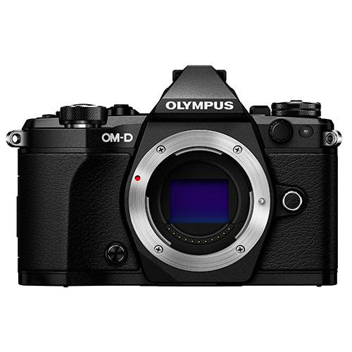 Olympus OM-D E-M5 Mark II Compact System Camera Body in Black