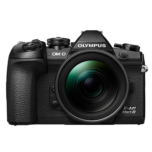 Olympus OM-D E-M1 Mark III Mirrorless Camera with 12-40mm Lens