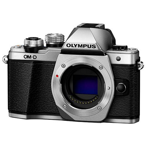 Olympus OM-D E-M10 Mark II Compact System Camera Body in Silver - Ex Display