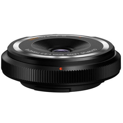 Olympus 9mm f/8.0 Body Cap Lens in Black - Ex Display
