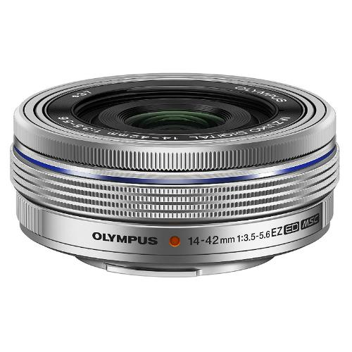 Olympus M.ZUIKO Digital ED 14-42mm f/3.5-5.6 EZ Silver Lens