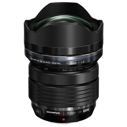 Olympus M.ZUIKO ED 7-14mm f/2.8 Pro Lens - Ex Display