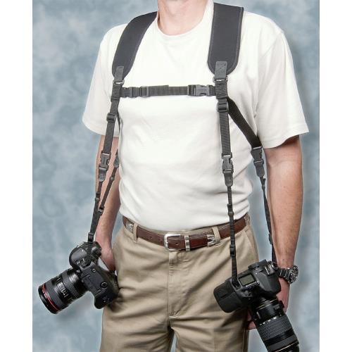 OpTech Dual Harness Strap black