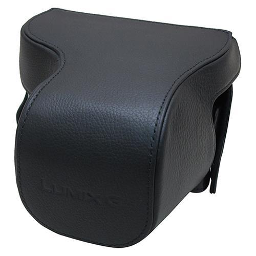 Panasonic Black Leather Case for Panasonic Lumix GX7 (DMW-CGK24XEK)