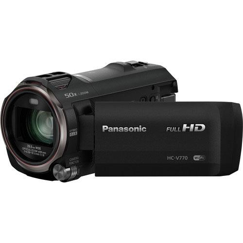 Panasonic HC-V770 Camcorder in Black