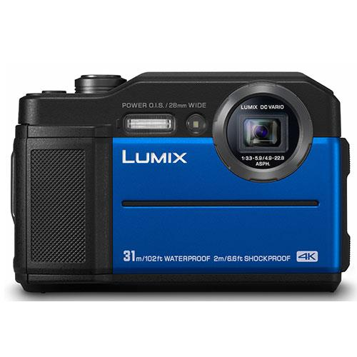 Panasonic Lumix DC- FT7 Digital Camera in Blue