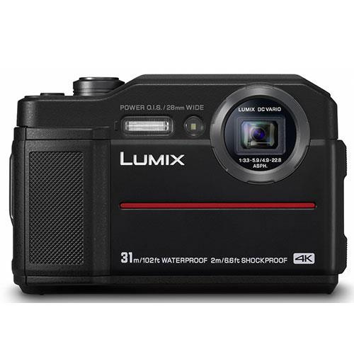 Panasonic Lumix DC- FT7 Digital Camera in Black - Ex Display