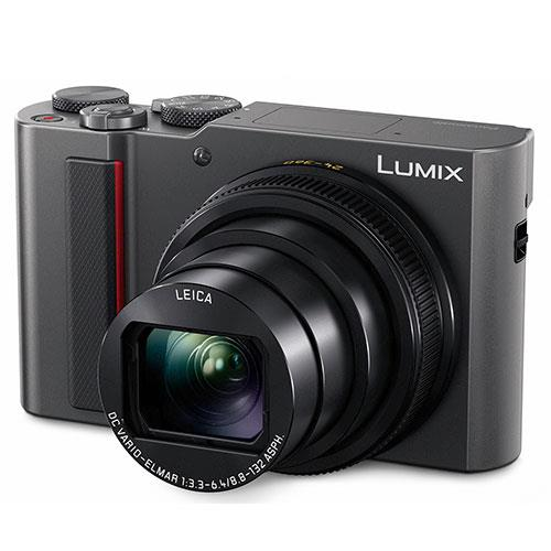 Panasonic Lumix DC-TZ200 Camera in Silver