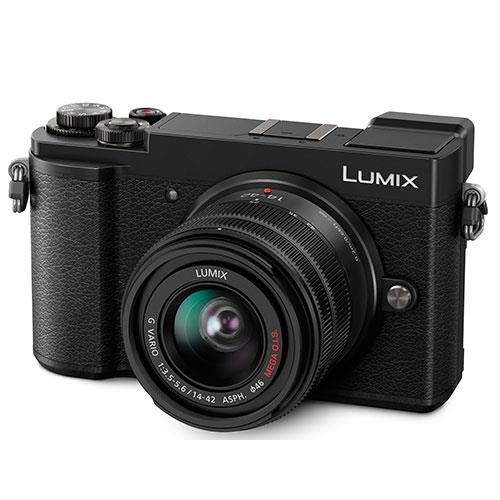 Panasonic Lumix GX9 Mirrorless Camera in Black with 14-42mm f/3.5-5.6 Lens