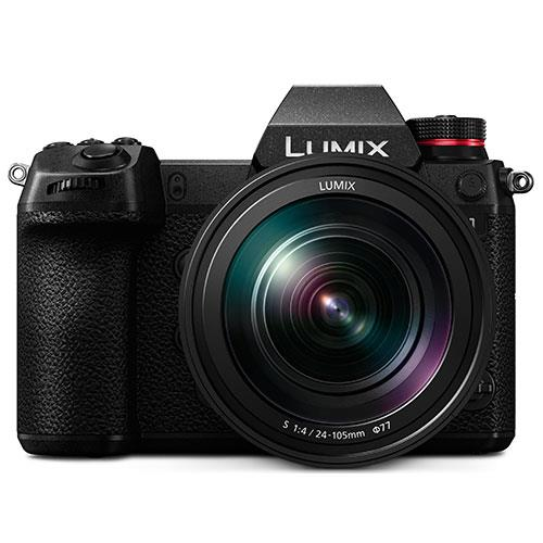 Panasonic Lumix DC-S1 Mirrorless Camera with 24-105mm Lens DC-S1ME-K