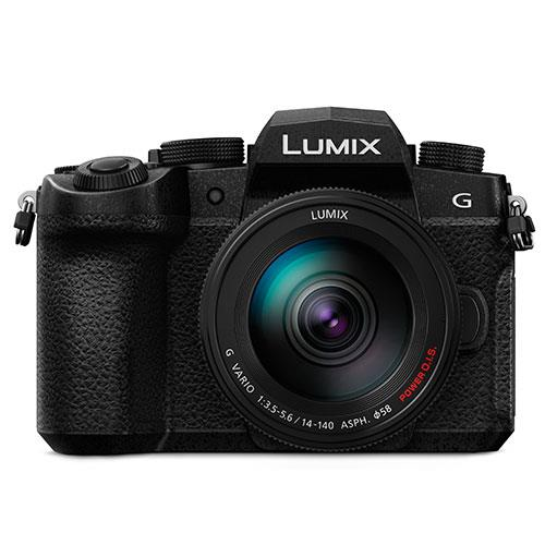 Panasonic Lumix DC-G90 Mirrorless Camera with 14-140mm f/3.5-5.6 Lens DC-G90HEB-K