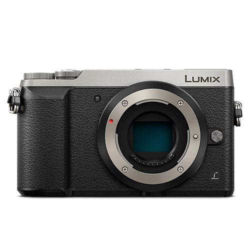Panasonic Lumix DMC-GX80 Mirrorless Camera Body in Silver