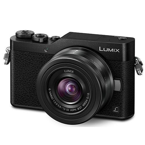 Panasonic Lumix DMC-GX800 Mirrorless Camera in Black with 12-32mm Lens