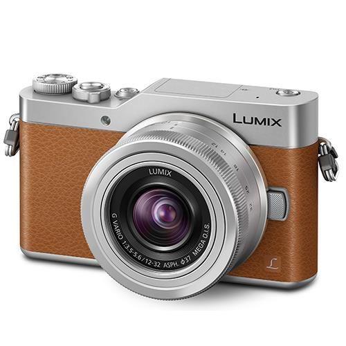 Panasonic Lumix DMC-GX800 Mirrorless Camera in Brown with 12-32mm Lens