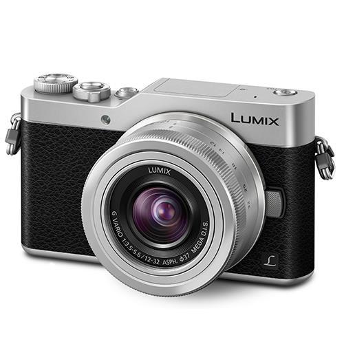 Panasonic Lumix DMC-GX800 Mirrorless Camera in Silver with 12-32mm Lens