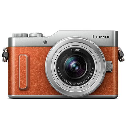 Panasonic Lumix DC-GX880 Mirrorless Camera in Brown with 12-32mm Lens