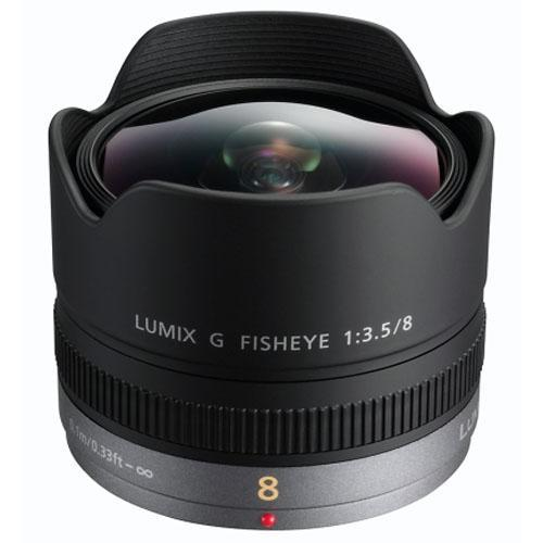 Panasonic 8mm f3.5 Fisheye Lens