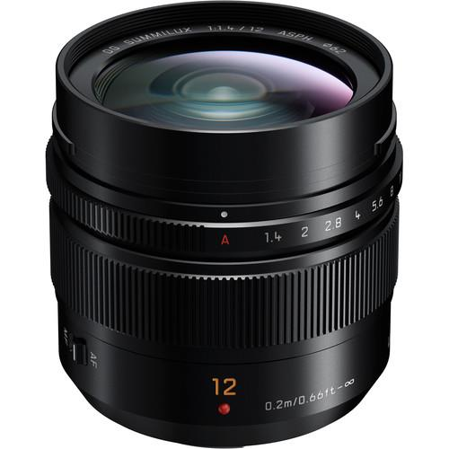 Panasonic Leica DG Summilux 12mm F1.4 ASPH Lens