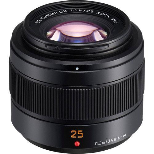 Panasonic Leica DG Summilux 25mm F/1.4 II ASPH Lens