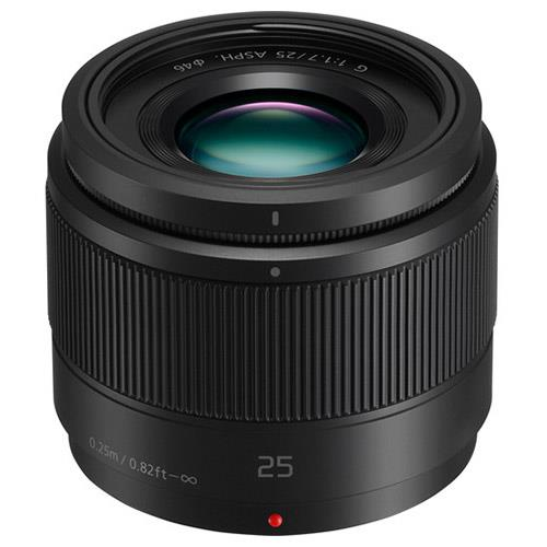 Panasonic 25mm f/1.7 Lens in Black - H-H025E