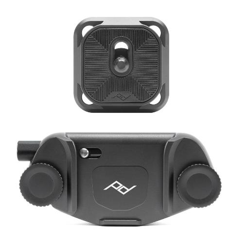 Peak Design Camera Clip V3 with Plate Black