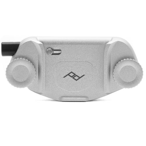 Peak Design Capture Camera Clip V3 Silver No Plate