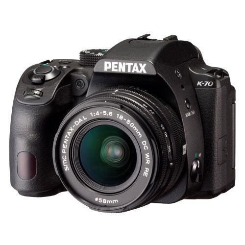 Pentax K-70 Digital SLR with 18-50mm Lens - Ex Display