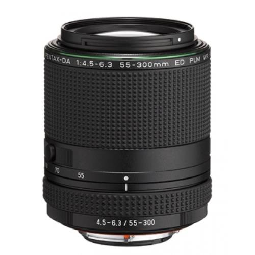 Pentax HD DA 55-300mm F4.5-6.3 ED PLM WR RE Lens