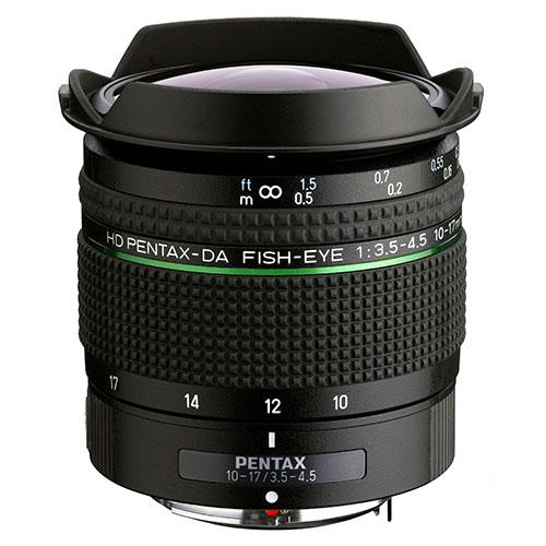 Pentax 10-17mm Fish-Eye F/3.5-4.5 ED Lens