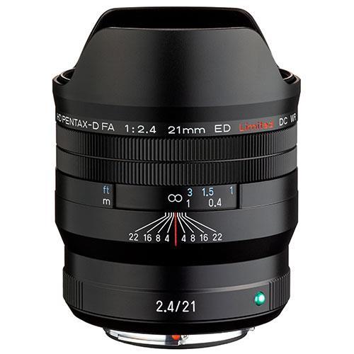 Pentax HD FA 21mm F2.4ED Limited DC WR Lens in Black