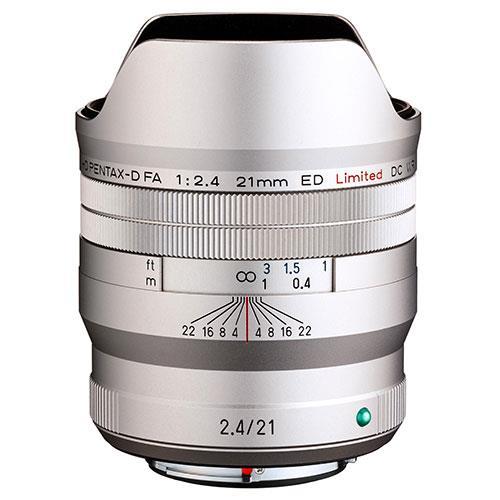Pentax HD FA 21mm F2.4ED Limited DC WR Lens in Silver