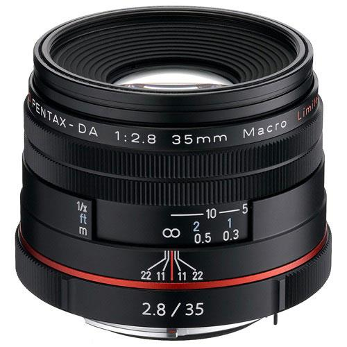 Pentax HD DA 35mm f/2.8 Macro Lens in Black