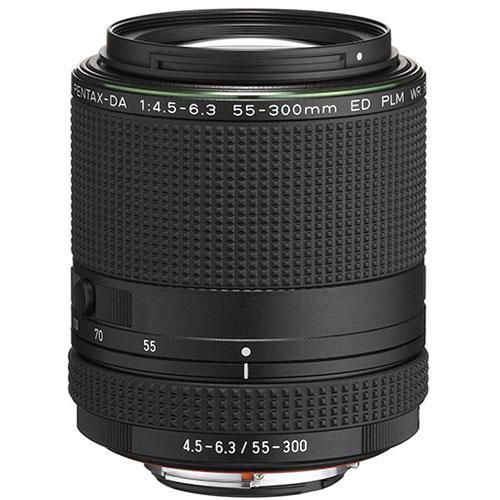 Pentax DA 55-300mm f/4.5-6.3 ED PLM WR RE Lens