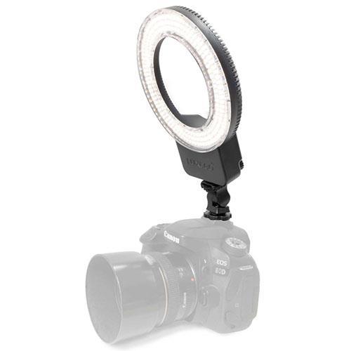 Pixapro Luxeo P01 On Camera LED Ringlight - 5.5-inch