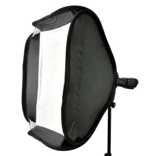 PiXAPRO 80x80cm Square Easy-open Round-Head Speedlite Softbox